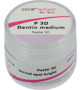 ceraMotion® One Touch Paste 3D Dentin medium
